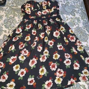 American Eagle strapless dress